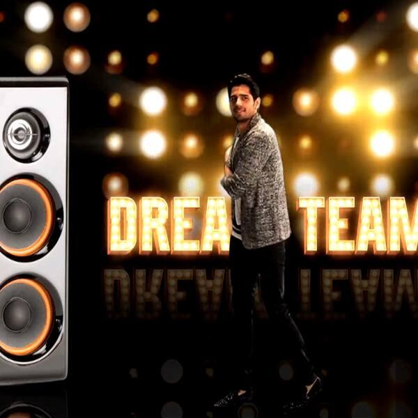 Sidharth Malhotra's still from Dream Team promo