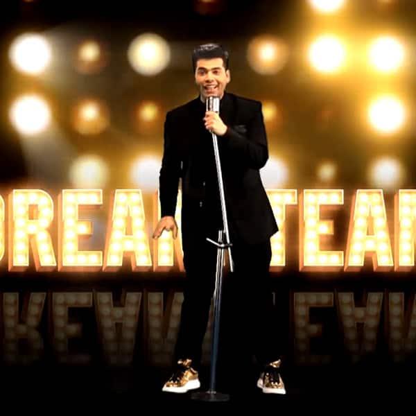 Karan Johar's still from video of Dream Team