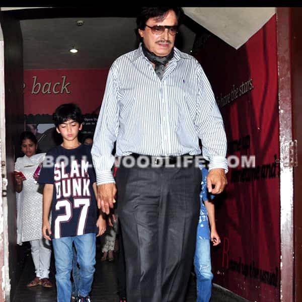 Sanjay Khan snapped outside PVR in Mumbai