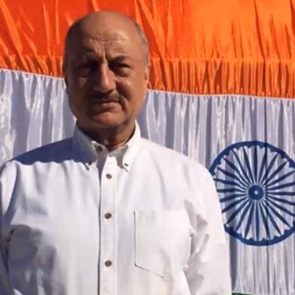 Anupam Kher snapped on 70th Independence Day