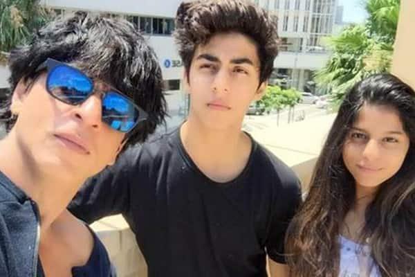 Shah Rukh and Gauri Khan's kids Suhana and Aryan