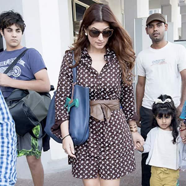 Twinkle Khanna and Akshay Kumar's kids Nitara and Aarav