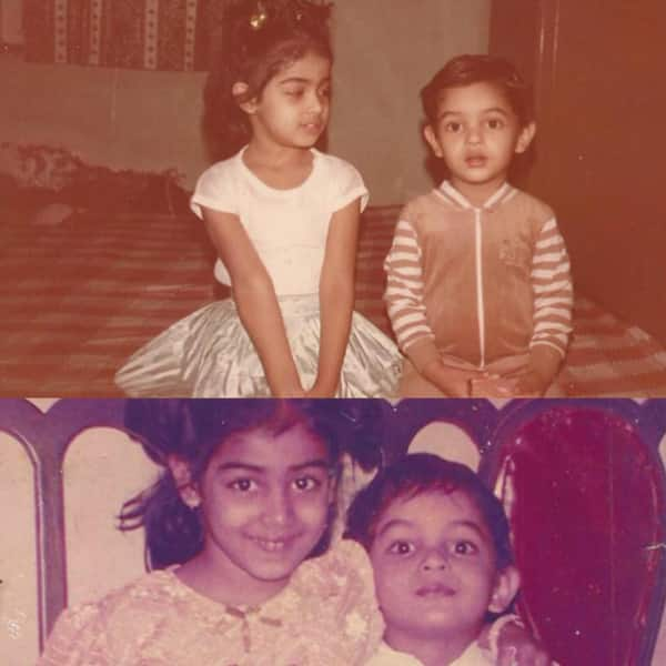 Genelia D'souza shared a throwback pic with brother on Raksha Bandhan