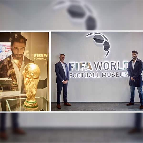 Ranveer Singh witnessing 'glorious history' of football in Zurich