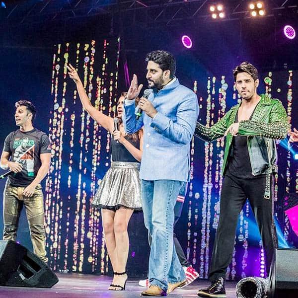 Abhishek Bachchan visited Dream Team concert in New Jersey