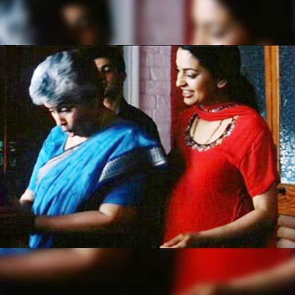 Juhi Chawla as pregnant woman in 'Jhankar Beats'