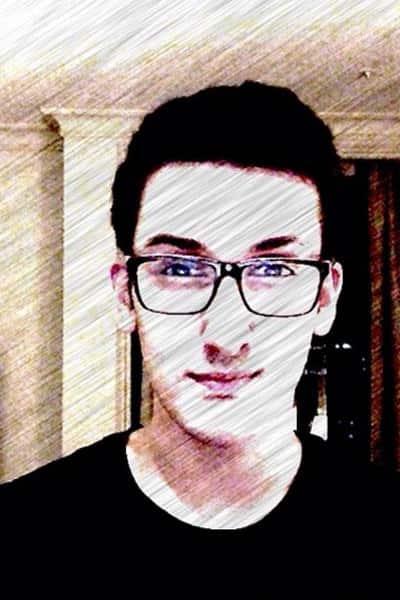 Yashvardhan Ahuja's selfie with Prisma effect