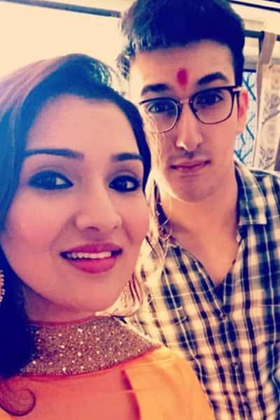 Yashvardhan Ahuja's Raksha Bandhan selfie