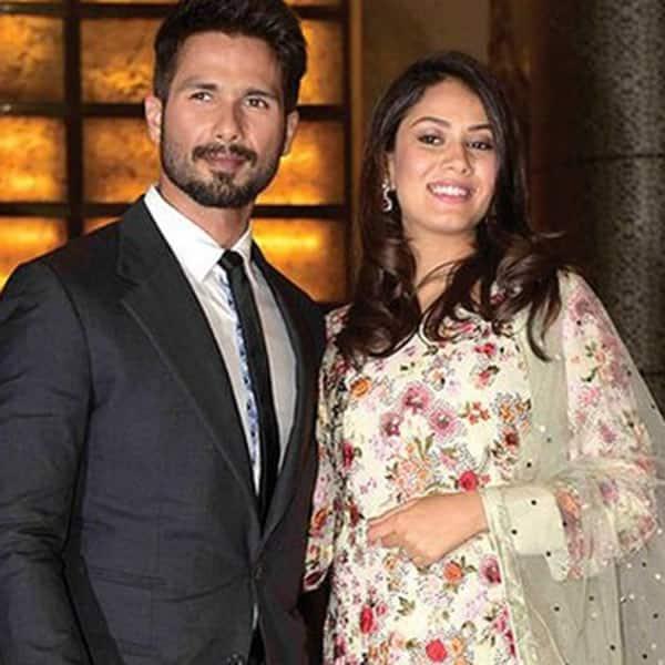 Mira Rajput and Shahid Kapoor at Preity Zinta's wedding reception