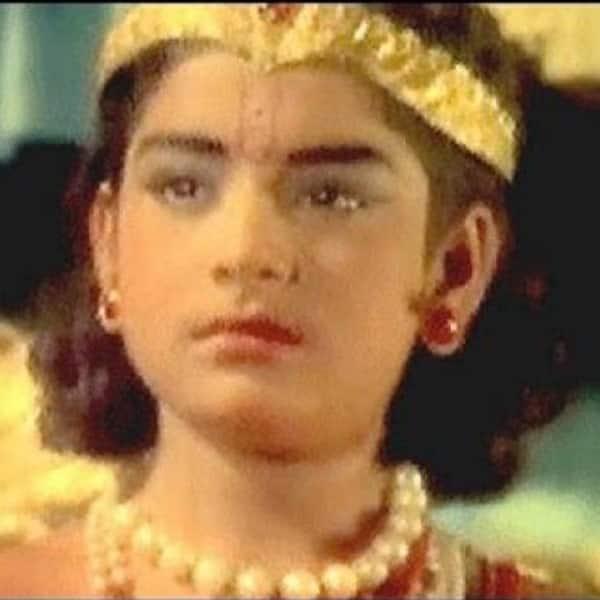 Sachin Pilgaonkar played Lord Krishna in 'Krishna Leela'
