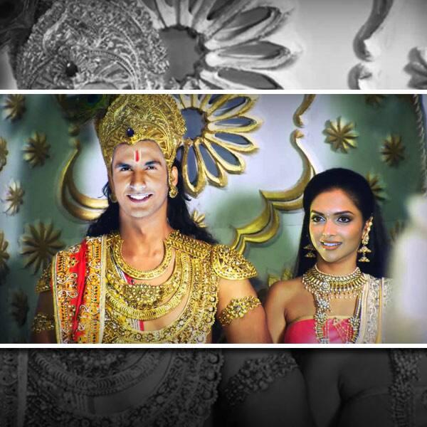 If  Ranveer Singh and  Deepika Padukone could play Krishna and Radha