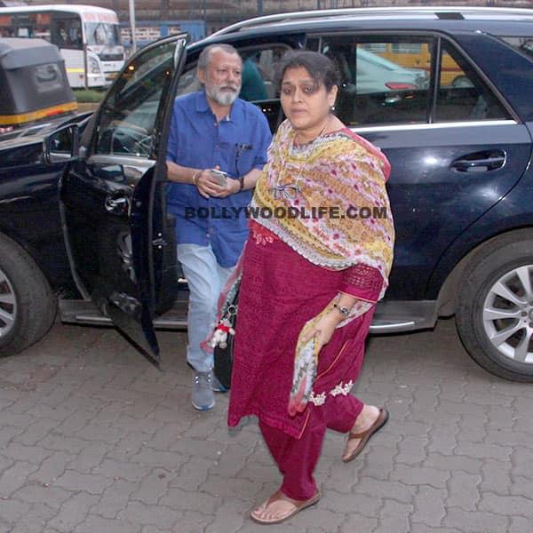 Pankaj Kapor with wife Supriya Pathak