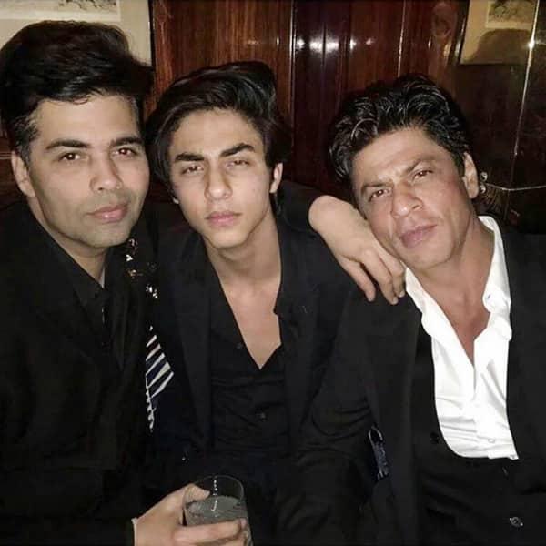 Aryan Khan snapped at Karan Johar's birthday party with friends