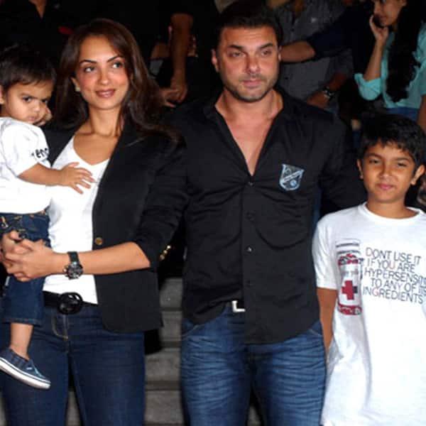 Sohail Khan with his family