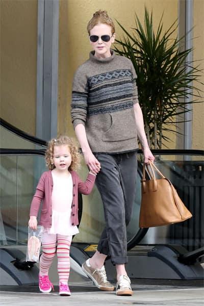 Nicole Kidman had a baby girl through surrogate mother