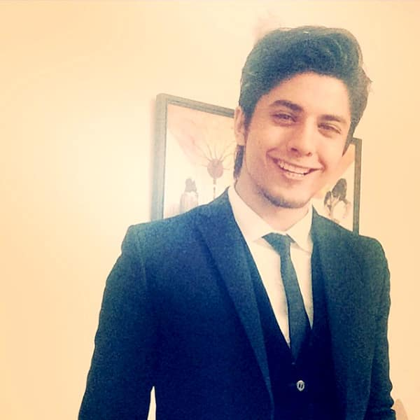 Danyal Zafar snapped suited and booted