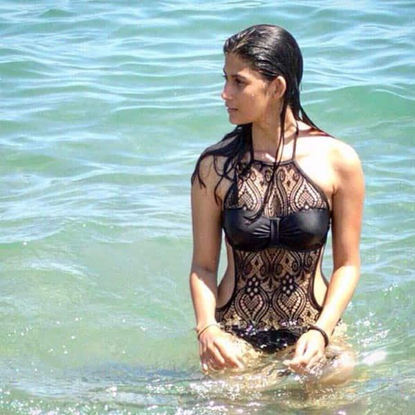 Samara Tijori snapped in pool