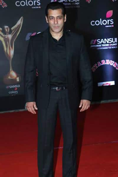 Stardust Awards 2016: Salman Khan's presence at the function is a quiet one