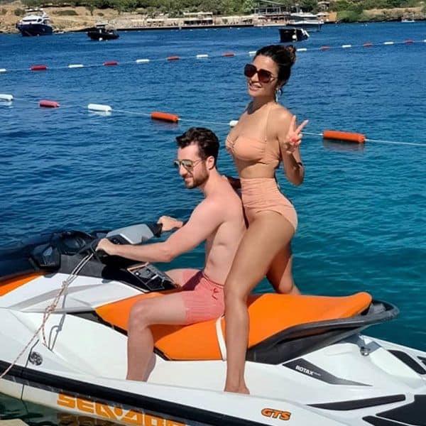 Shama Sikander holidays in Turkey