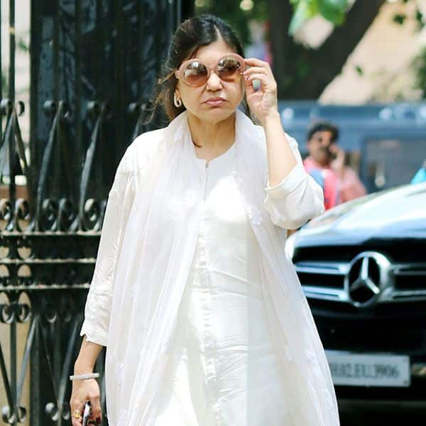Alka Yagnik was also there