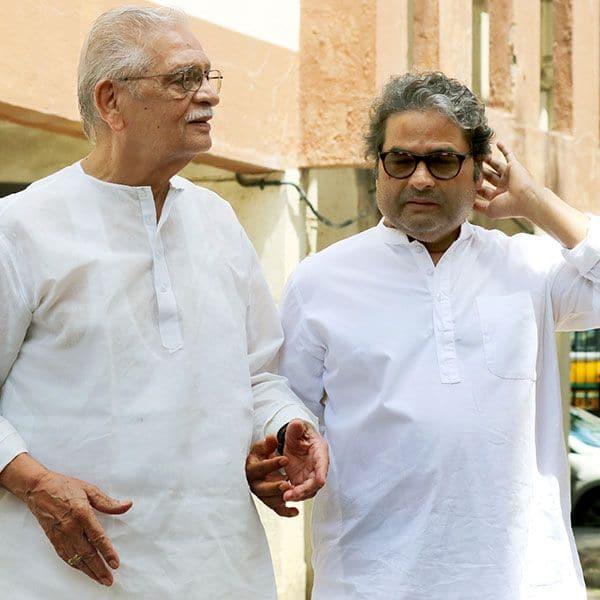 Vishal Bharadwaj and Gulzar came in together