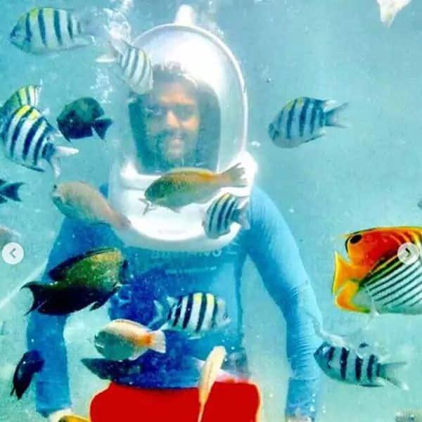 Life under water!