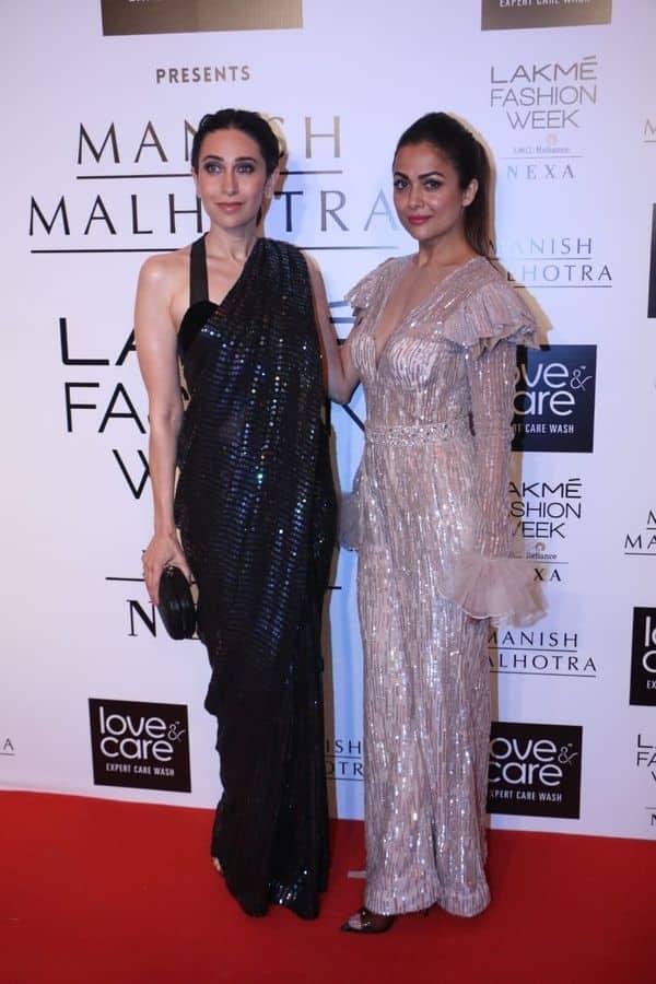 Amrita Arora संग कैमरे के आगे पोज देती नजर आई Karisma Kapoor