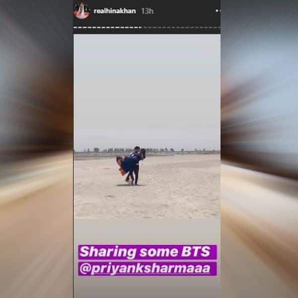 Features her good friend Priyank Sharma