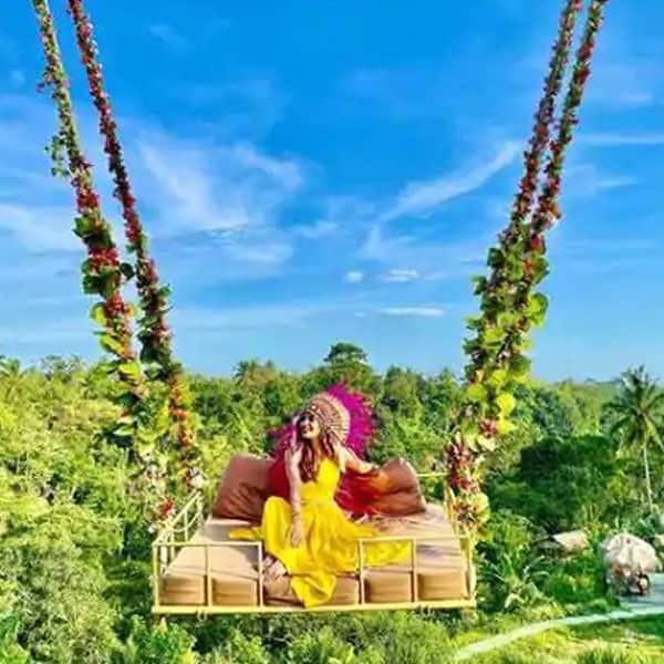 Karishma Sharma enjoys an exotic vacation at Bali