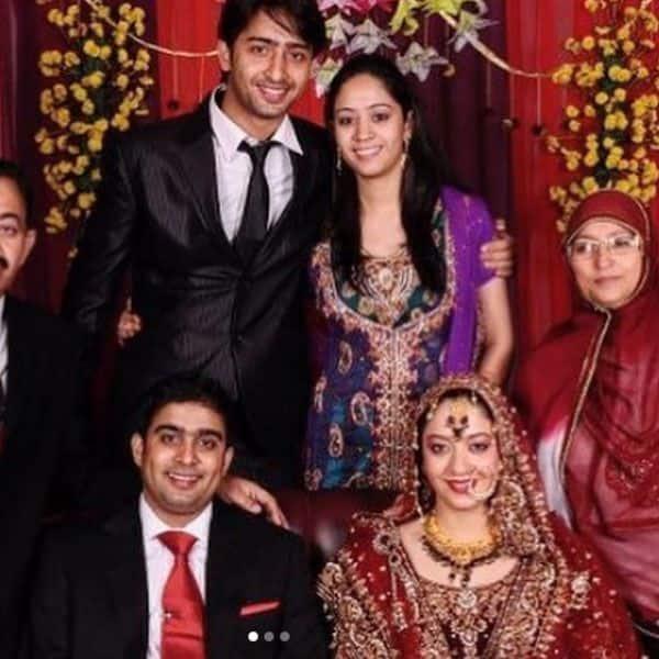Shaheer's happy family