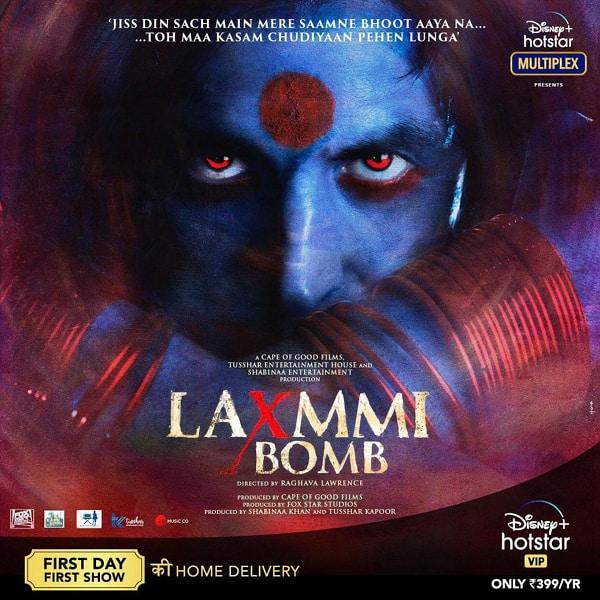 Laxmmi Bomb poster 1