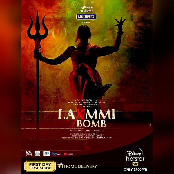 Laxmmi Bomb poster 2