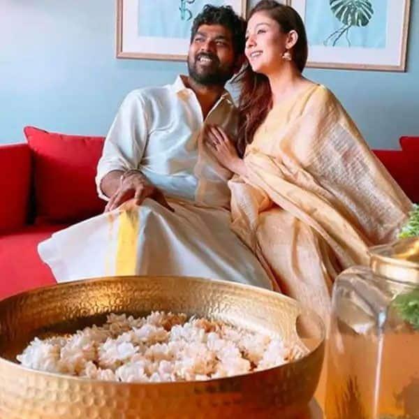 Nayanthara celebrates boyfriend Vignesh Shivan