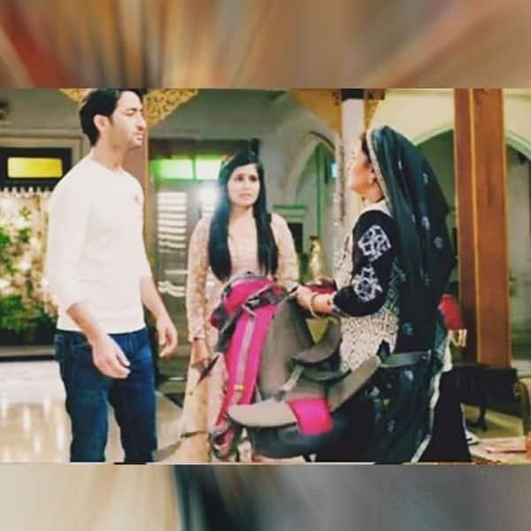 Abir leaves with Mishti
