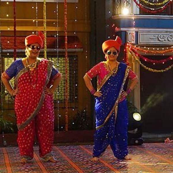 Madhavi and Komal
