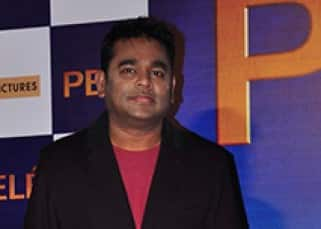 A.R. Rahman snapped at the trailer launch of 'Pele: Birth of a Legend'