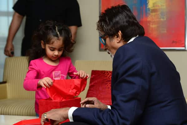 A young fan from Dubai sends gift for Aaradhya via Amitabh Bachchan!