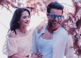 Aamir Ali poses with wife Sanjeeda Sheikh