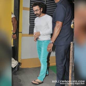 Aamir Khan's commitment has no match, the actor resumes work even as he recuperates from Swine Flu