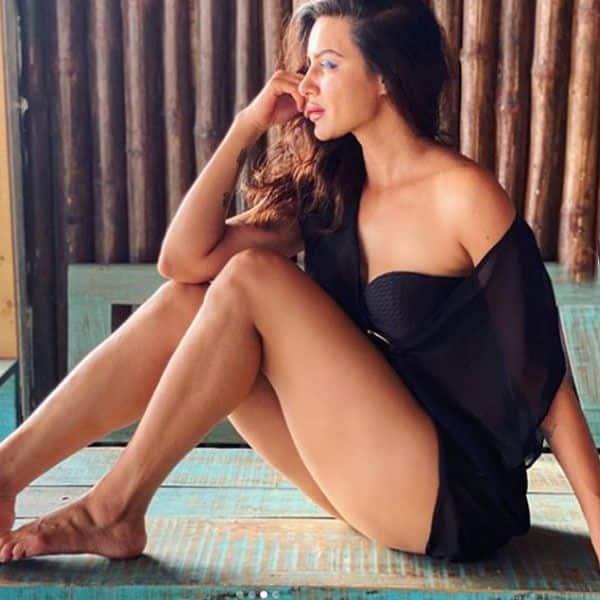 Naagin actress Aashka Goradia's home Photoshoot is too Hot to Handle