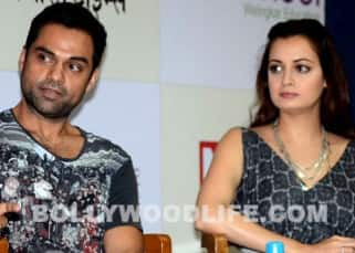 Abhay Deol, Diana Penty and Dia Mirza spotted at Welingkar Institute for a talk session, see pics!
