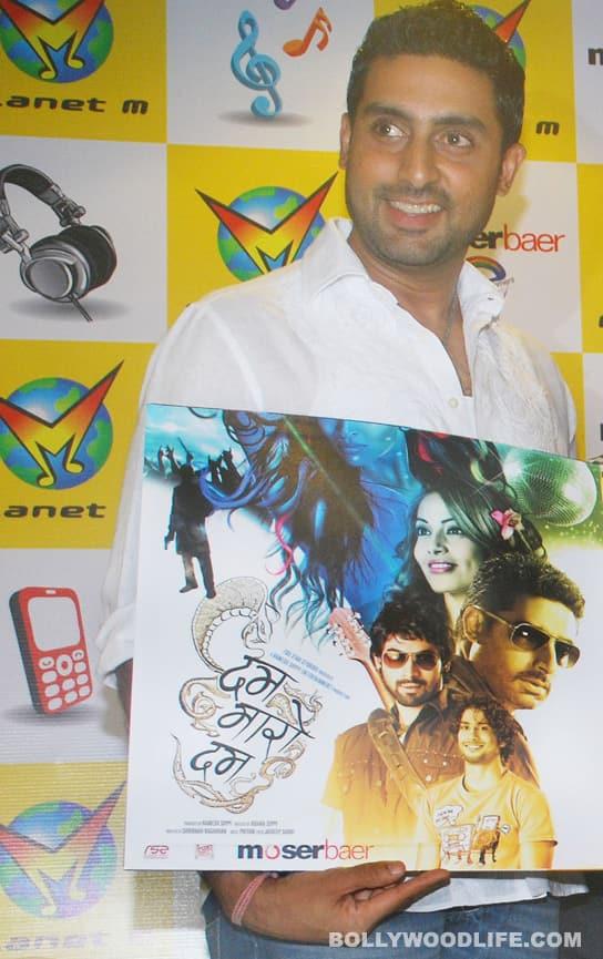 Abhishek Bachchan launches Dum Maaro Dum DVD