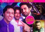 Abhishek Bachchan strikes a pose with Gauahar Khan, Salim-Sulaiman and the contestants - View pics!