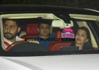 Abhishek Bachchan took wife Aishwarya Rai Bachchan out on dinner date last night!