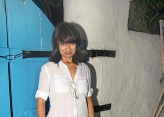 Adhuna Bhabani snapped during wrap up bash of 'Baar Baar Dekho'