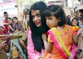 Aishwarya Rai Bachchan visits Siddhivinayak Temple with her parents and daughter Aaradhya! View HQ pics!