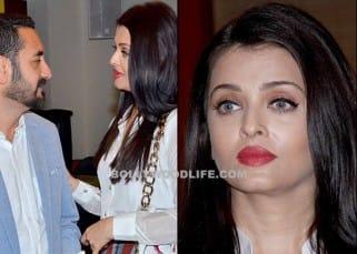 Aishwarya Rai Bachchan's close up at book launch event in Mumbai