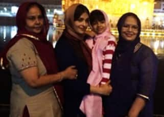 Aishwarya Rai visits Golden Temple in Amritsar with Aaradhya Bachchan