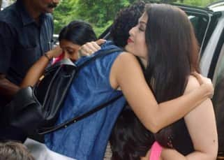 Aishwarya Rai's daughter Aaradhya greets Aamir Khan's son Azad with a cute hug, see pics!