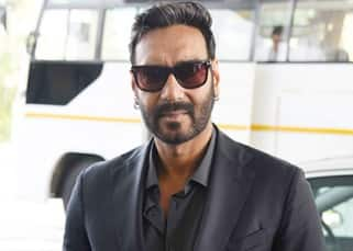 Ajay Devgn clicked with Padma Shri in Delhi